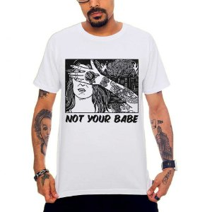 Camiseta Not Your Babe - Girl