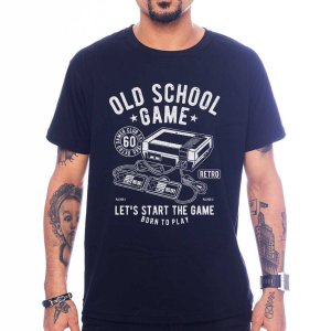 Camiseta Old School Game