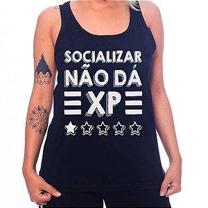 Regata Feminina Socializar Não Dá XP