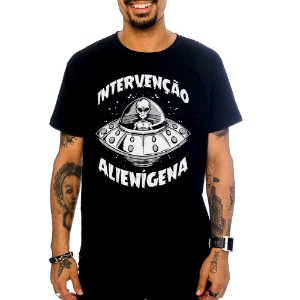 Camiseta Intervenção Alienígena