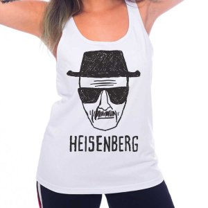 Regata Feminina Breaking Bad - Heisenberg