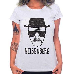 Camiseta Feminina Breaking Bad - Heisenberg