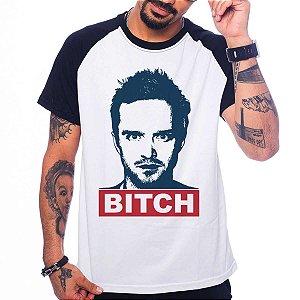 Camiseta Raglan Breaking Bad - Jesse Pinkman