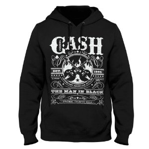 Moletom Johnny Cash - Est 1955