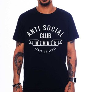 Camiseta Anti Social Club