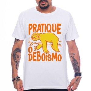 Camiseta Pratique o Deboismo