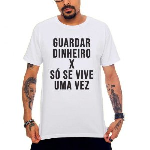 Camiseta Guardar Dinheiro