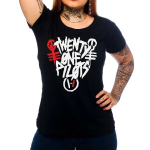 Camiseta Feminina Twenty One Pilots 1