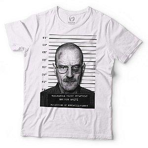 Camiseta Breaking Bad - Heisenberg Mugshot