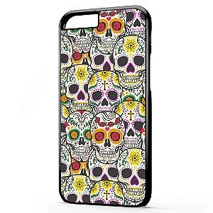 Capa para Celular Iphone 6 Caveiras Mexicanas