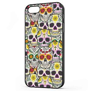 Capa para Celular Iphone 5/5S Caveiras Mexicanas