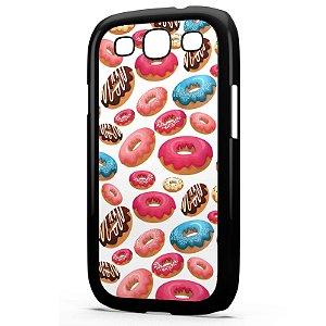 Capa para Celular Galaxy S3 Donuts