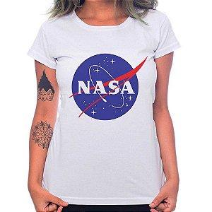 Camiseta Feminina Nasa - Branco - GG