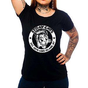Camiseta Feminina Stray Cats - Preto - GG