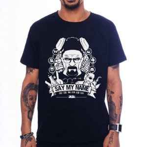 Camiseta Say my Name - Preto - P