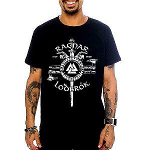 Camiseta Ragnar - Preta - M