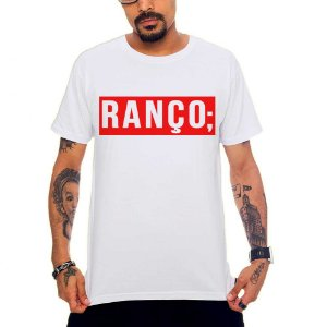 Camiseta Ranço - Branco - GG
