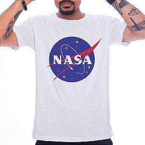 Camiseta Nasa - Branco - G
