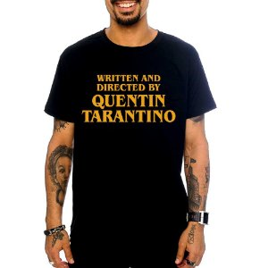Camiseta Quentin Tarantino - Preto - G