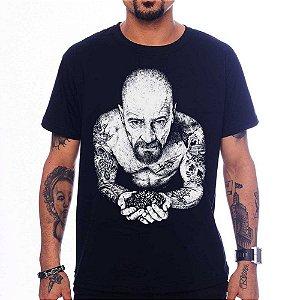 Camiseta Heisenberg Tattoo - Preto - G