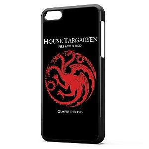 Capa para Celular Iphone 5C Game of Thrones - House Targaryen