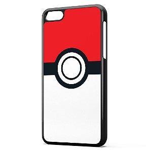 Capa para Celular Iphone 5C Pokemon Pokebola