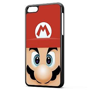 Capa para Celular Iphone 5C Super Mario