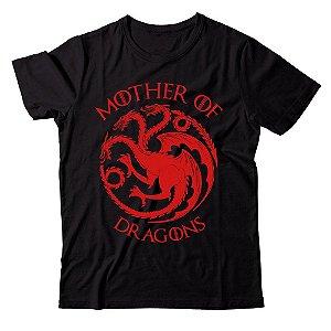 Camiseta - Mother of Dragons - Preta - P