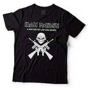 Camiseta - Iron Maiden - Preta - GG