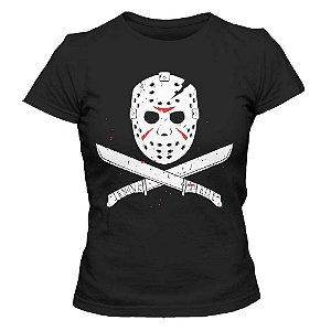Camiseta Feminina- Jason - Preta - P