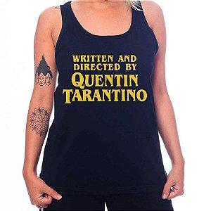 Regata Feminina Quentin Tarantino - Preta - G