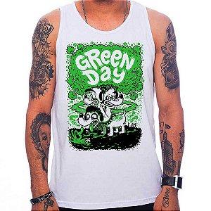 Regata Green Day Dog - Branca - M