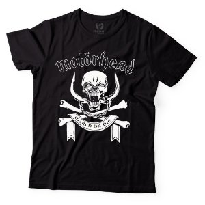 Camiseta Motörhead - March or Die