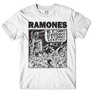 Camiseta Ramones - Let's Go