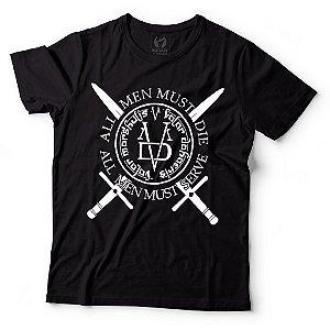 Camiseta Game of Thrones - Valar Morghulis Preta