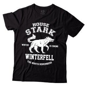 Camiseta Game of Thrones - House Stark Winterfell