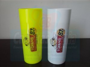 50 Copos Long drink acrílico Personalizado 350ml