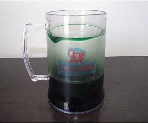 Caneca chopp c/ Gel congelante 300ml - Personalizada