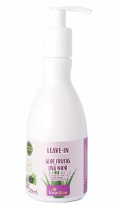Livealoe Leave-in Aloe Frutas com Noni e Uva 210ml