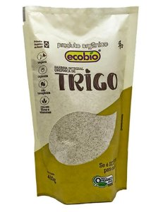 Ecobio Farinha de Trigo Integral Orgânica 400g