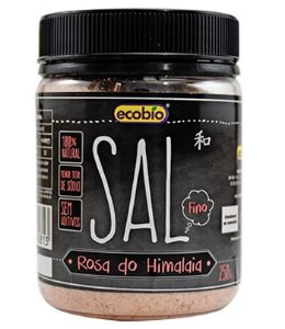 Ecobio Sal Rosa do Himalaia Fino Pote 250g