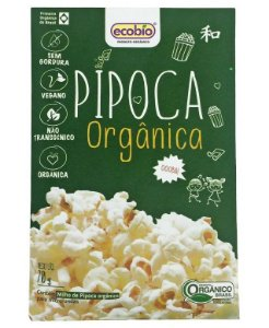 Ecobio Pipoca Para Micro-Ondas Orgânica 70g