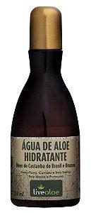 Livealoe Água de Aloe Hidratante com Óleo de Castanha do Brasil 210ml