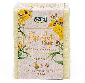 Verdi Natural Sabonete Corporal Calmante com Flores Amarelas Family Care 120g