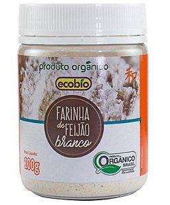 Ecobio Farinha de Feijão Branco Orgânico Pote 100g