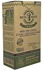 Ecobio Meta Mate Artesanal de Barbaquá Moída Fina Orgânica Para Chimarrão 500g