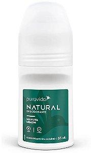 Puravida Desodorante Natural Roll-on Manuya Lemon 55ml