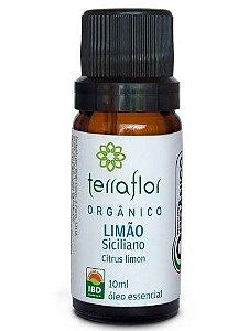 Terra Flor Óleo Essencial de Limão Siciliano Orgânico 10ml