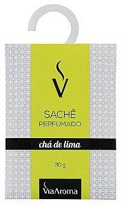 Via Aroma Sachê Perfumado Chá de Lima 30g