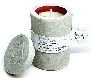 Blend Art Vela Vegetal Soft Touch - Erva Doce e Tea Tree 80g